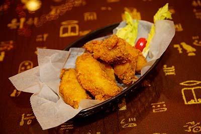 Fried Chicken Wings (6pcs)