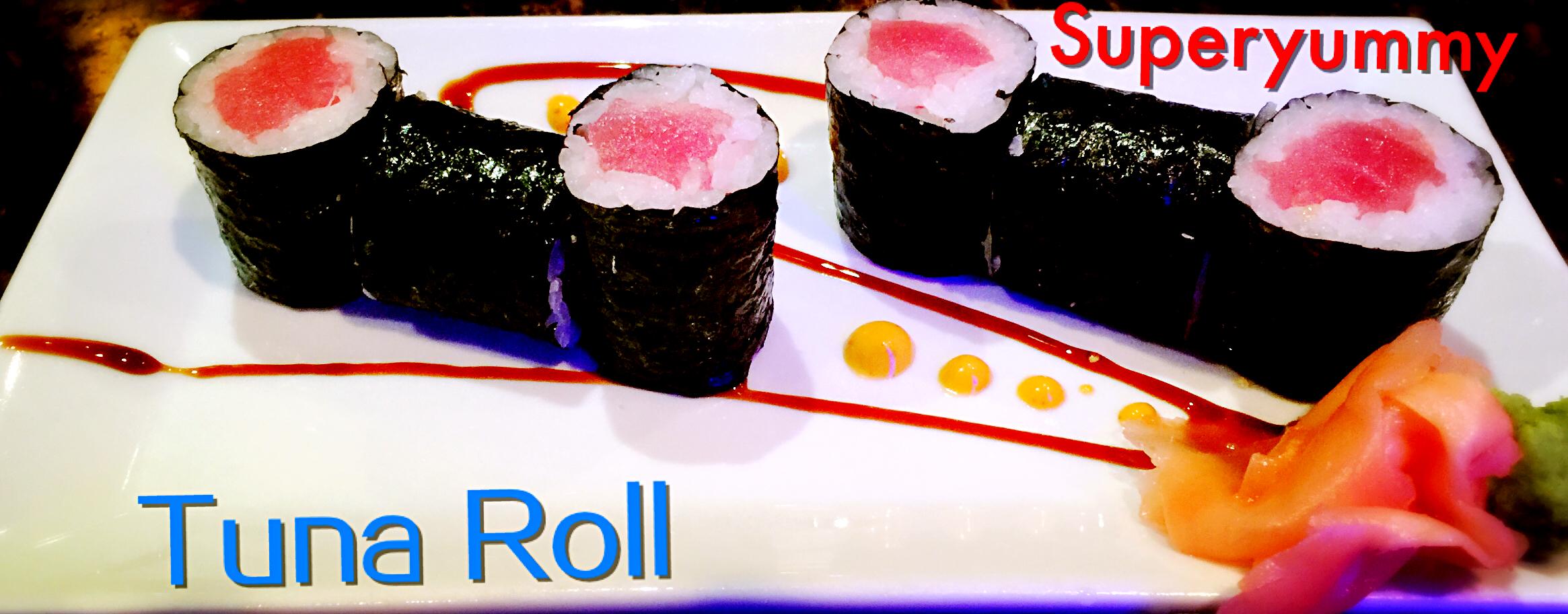 Salmon or Tuna or Yellowtail Roll  *